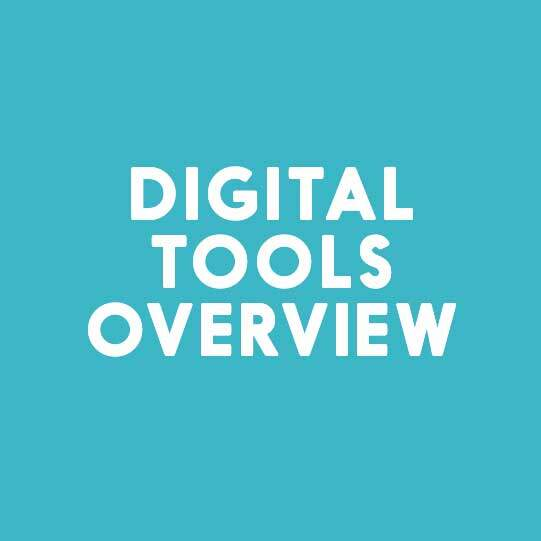 Digital Tools Overview