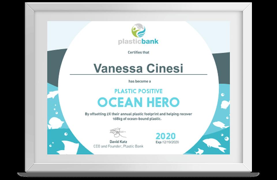 </p> <p>Torne-se Plástico Positivo Herói dos Oceanos</p> <p>